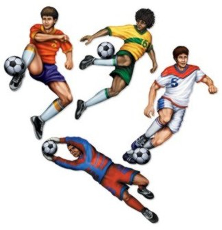 Soccer Player Cut Outs
