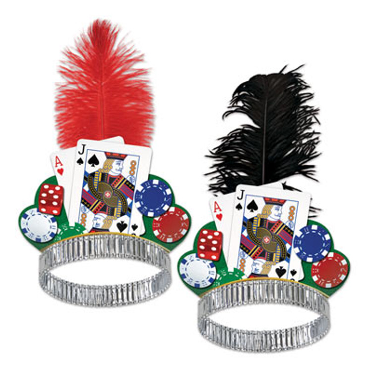 Casino Night Hat Tiara