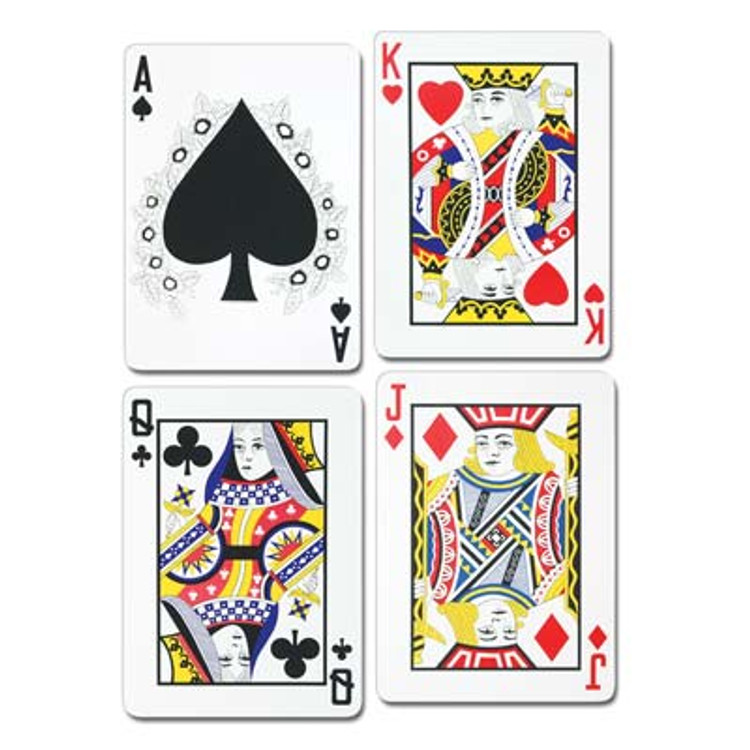 Playing Card Cut Out