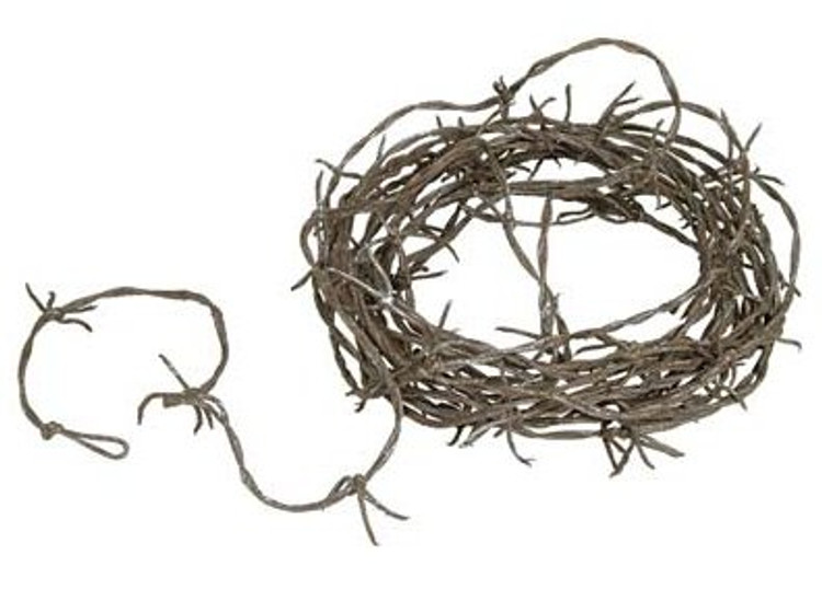 Barbed Wire Rusty Garland