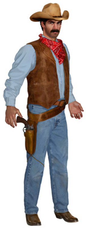 Cowboy Jointed Cutout
