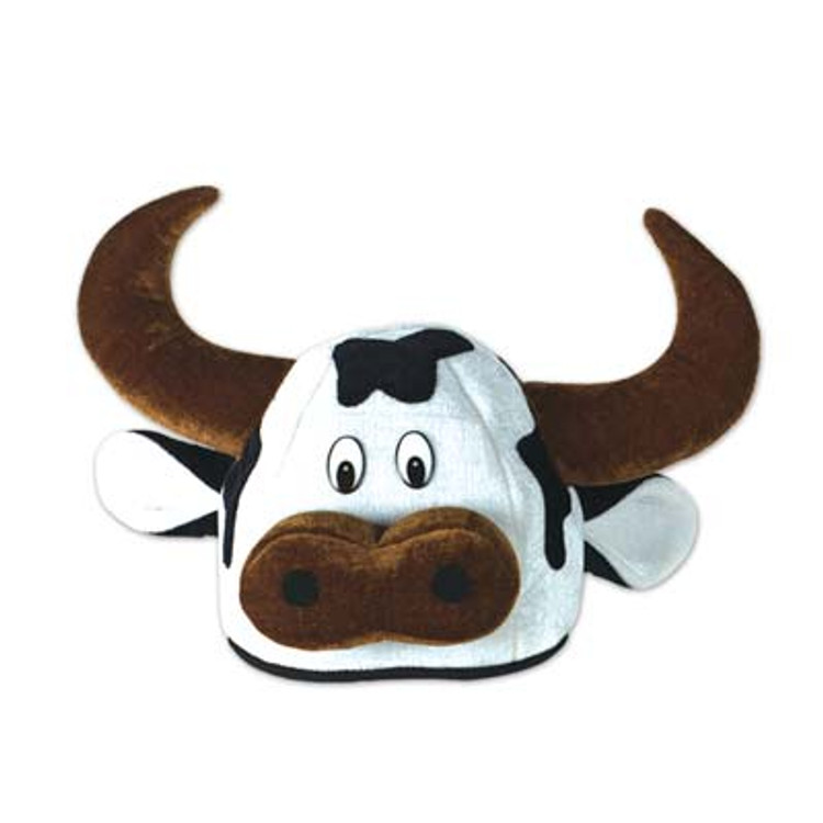 Cow Head Hat