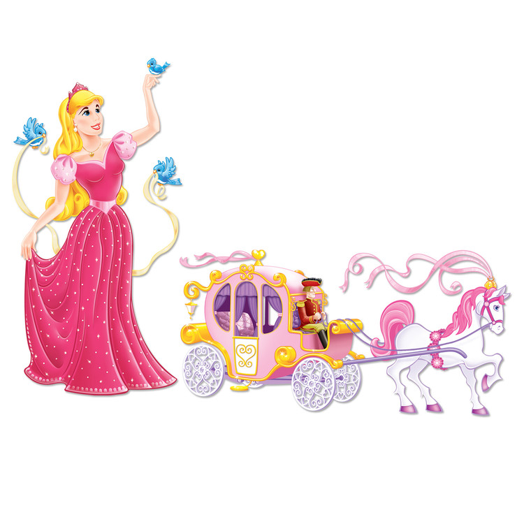 Princess & Carriage Props