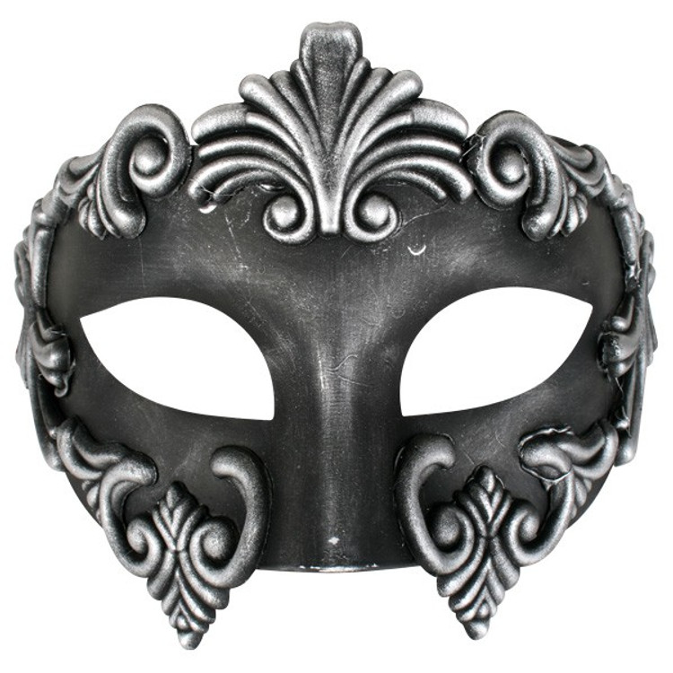 Lorenzo Black  & Silver Eye Mask