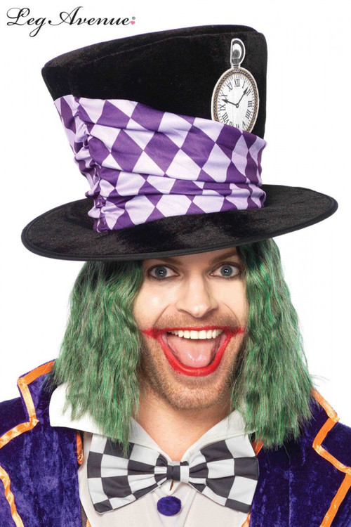 Alice in Wonderland Mad Hatter Top Hat Oversized