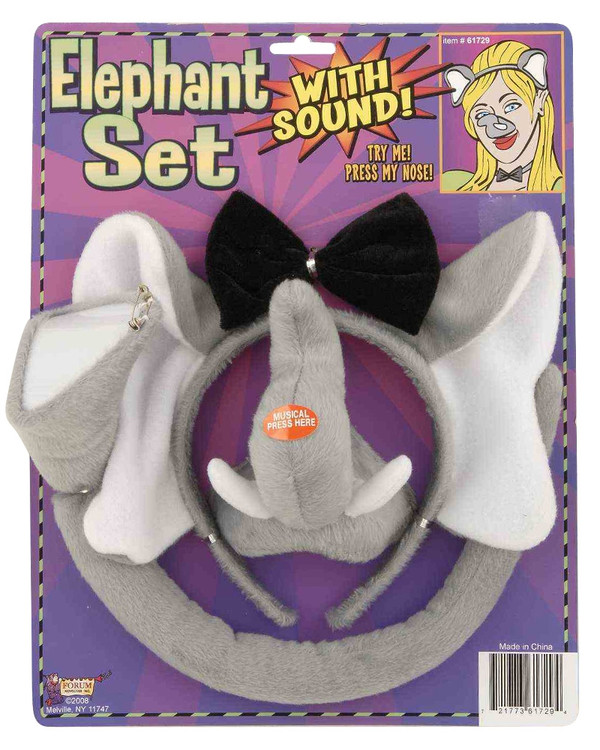 Elephant Dress Up Set with sound