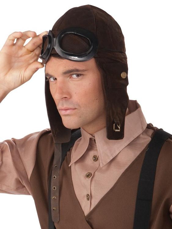 Steampunk Aviator Headpiece & Goggles