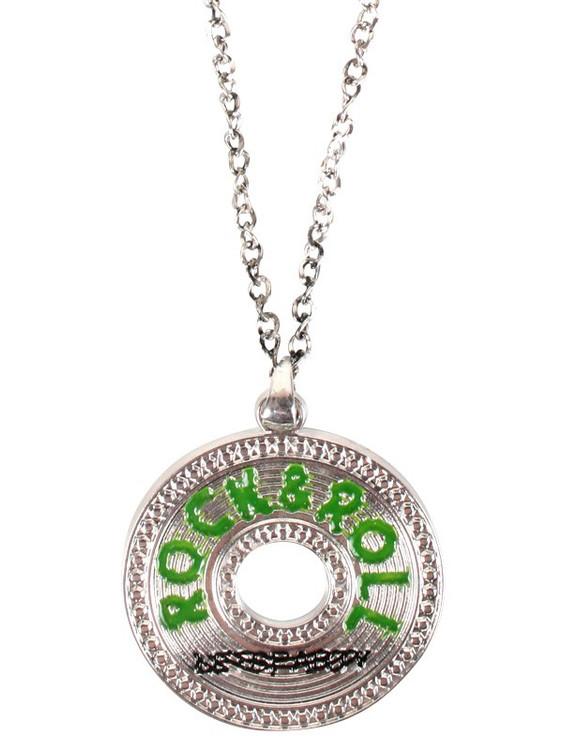 Rock & Roll Pendant Necklace
