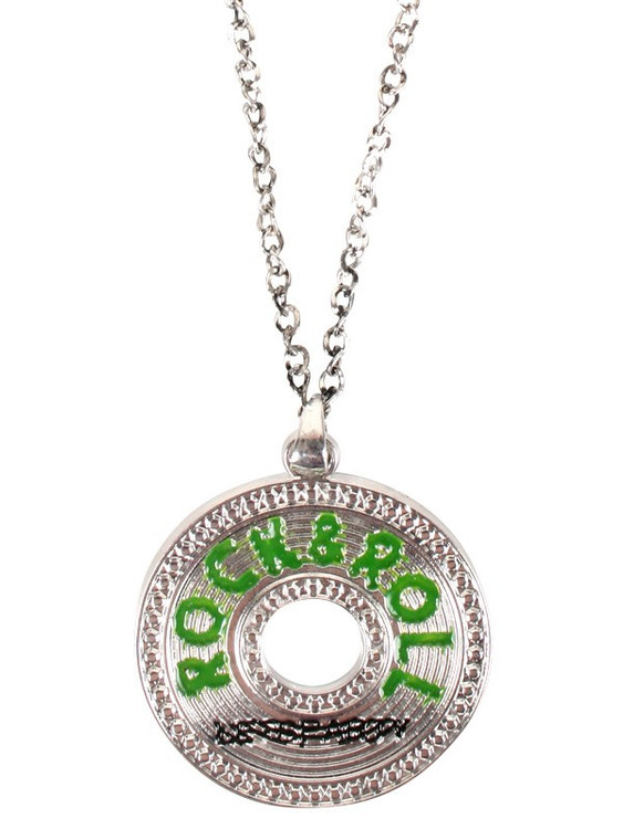 Rock & Roll Pendant Necklace