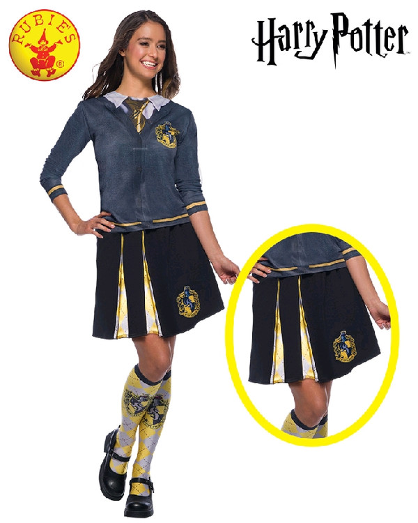Harry Potter Hufflepuff Adult Skirt