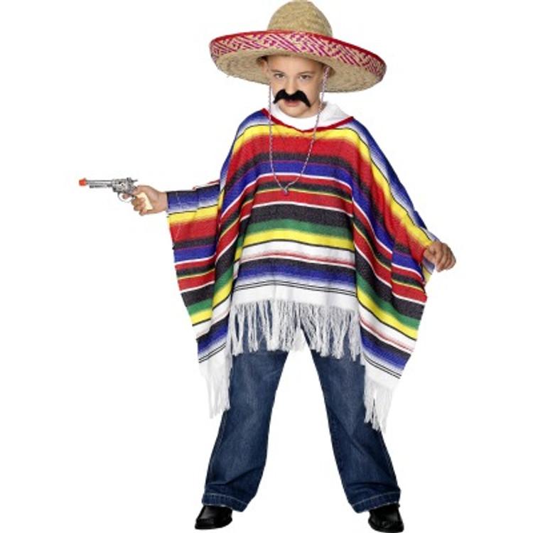 Poncho Boys Costume