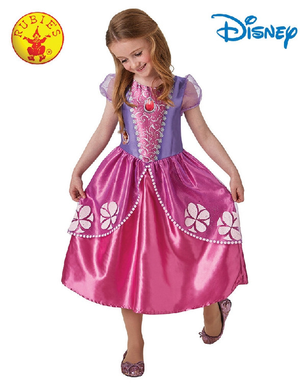 Sofia the First Girls Costume 3-5yrs