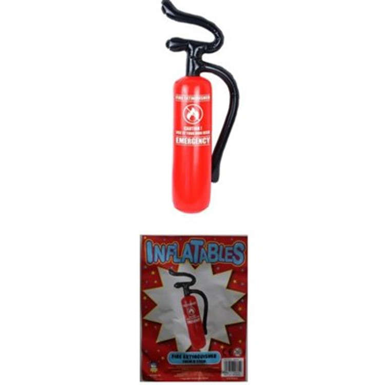 Inflatable Red Fire Extinguisher