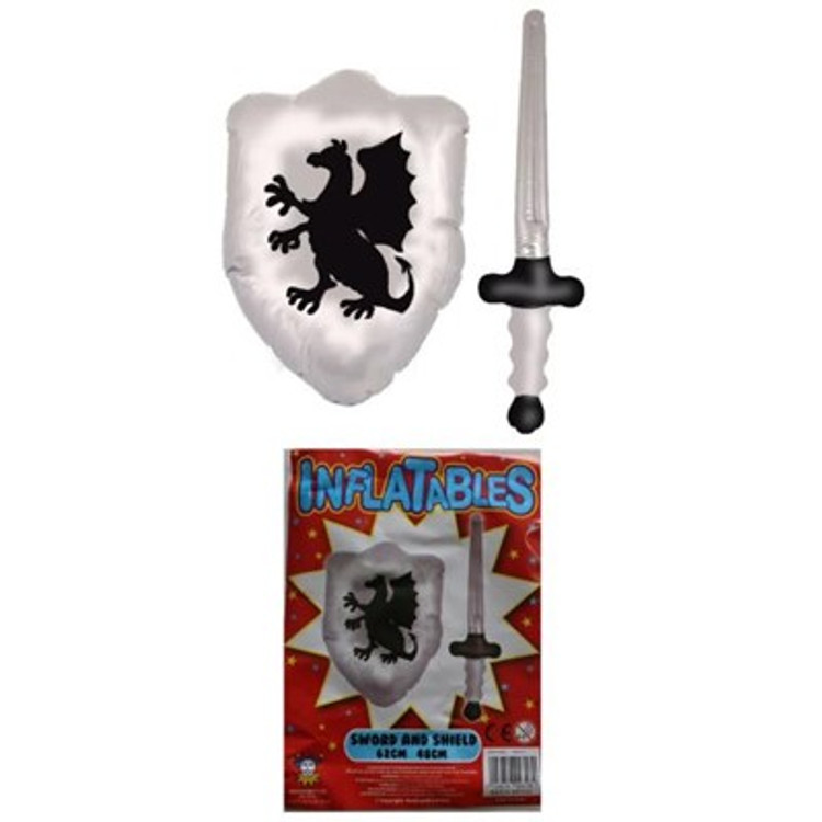 Inflatable Knights Sword & Shield