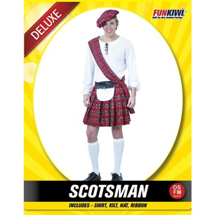 Scottish Scotsman Mens