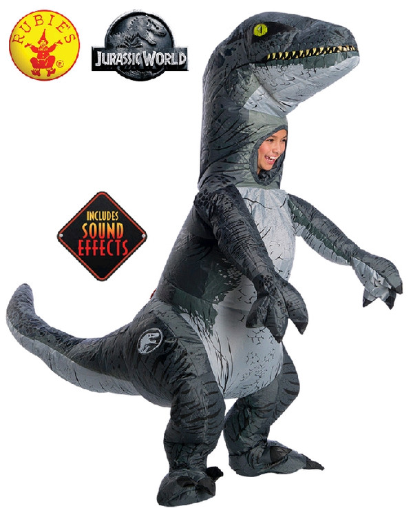 Jurassic World Velociraptor Blue Kids Costume