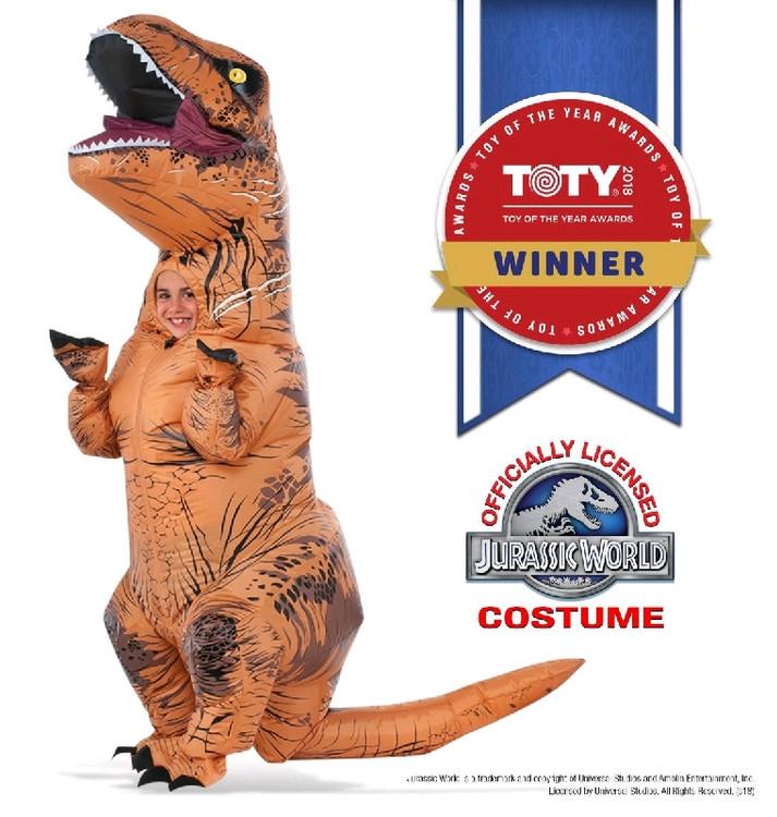 Jurassic World T-Rex Kids Costume