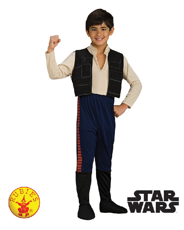 Star Wars - Han Solo Deluxe Boys Costume