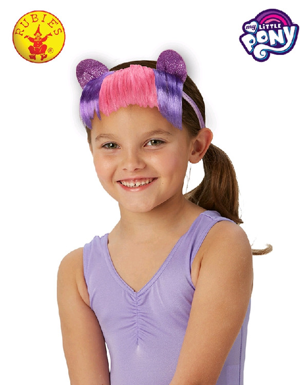 My Little Pony Twilight Sparkle Headband with Hair