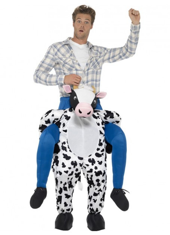 Cow Piggyback Adult Costume