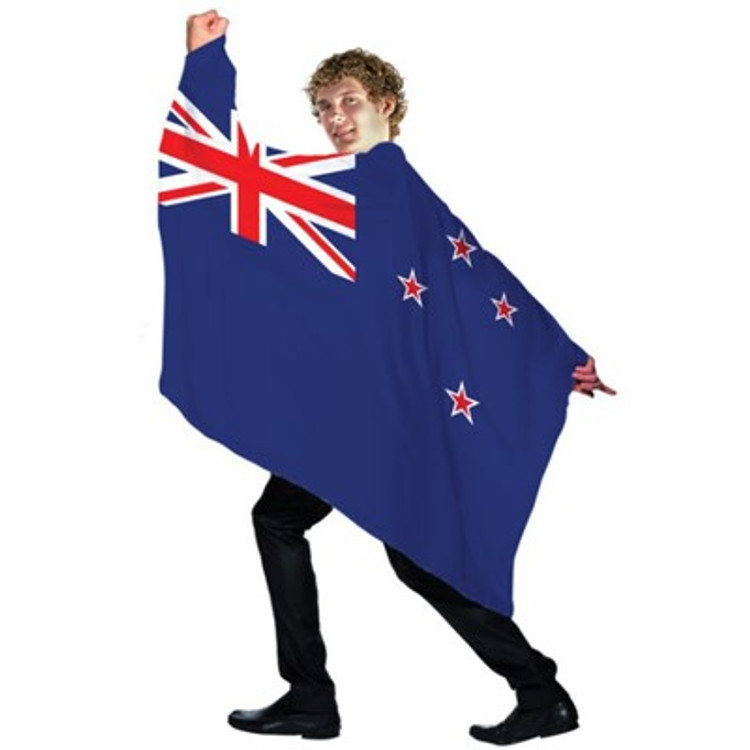 New Zealand Flag Cape
