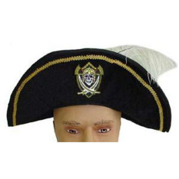Pirate Hat with Feather