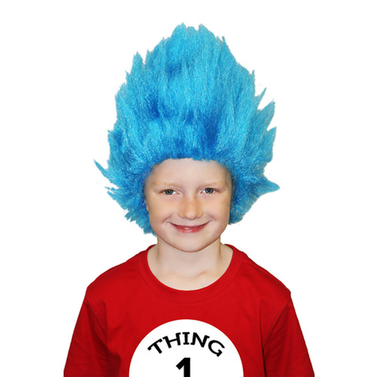 Dr. Seuss Cat in the Hat - Thing 1 and Thing 2 Kids Wig