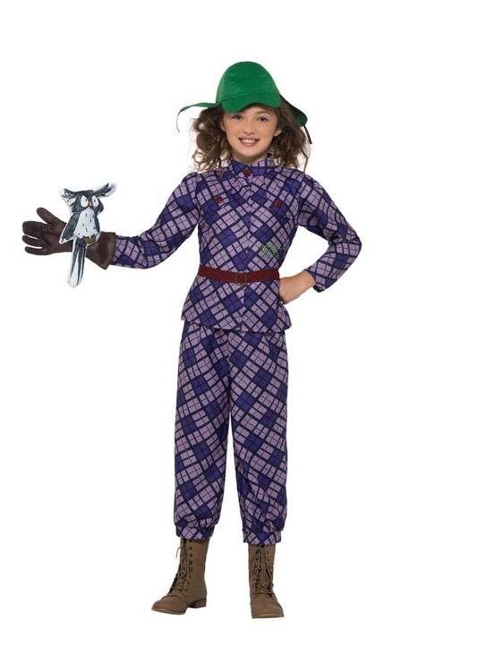 David Walliams Deluxe Awful Auntie Kids Costume