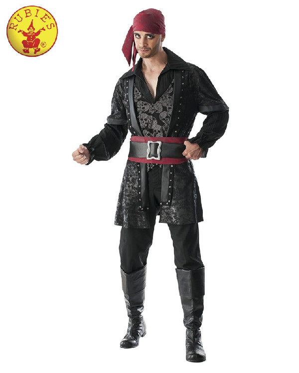 Pirate - Black Beard Mens Costume