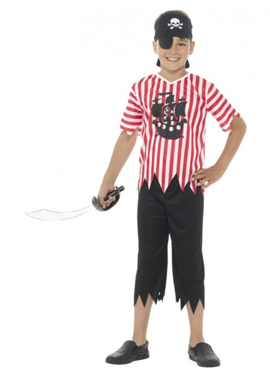 Jolly Pirate Kids Costume