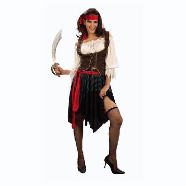 Pirate Wench Womens Costume