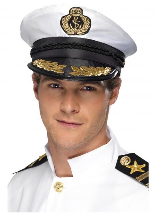Sea Navy Captains Hat