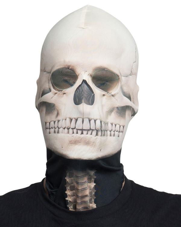 Skeleton Mask Faux Real
