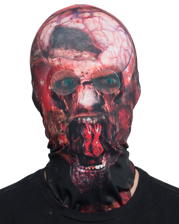 Zombie Mask Faux Real