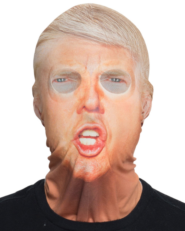 Trump Mask Faux Real