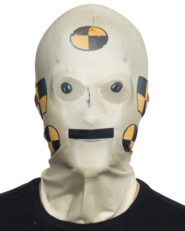 Crash Test Dummy Mask Faux Real