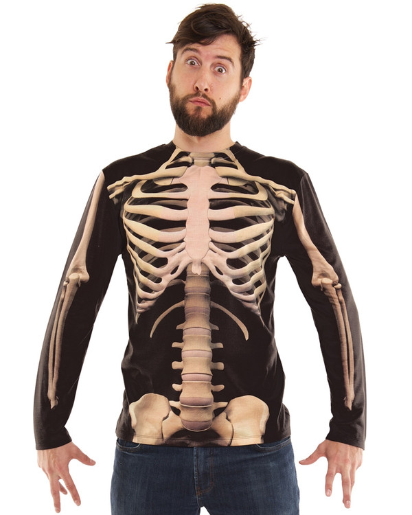 Skeleton Long Sleeved Top