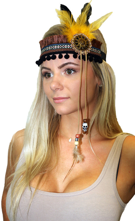Festival Headpiece - Native Indian