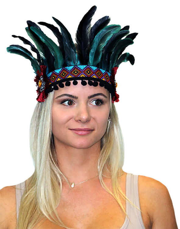 Festival Headpiece - Aztec