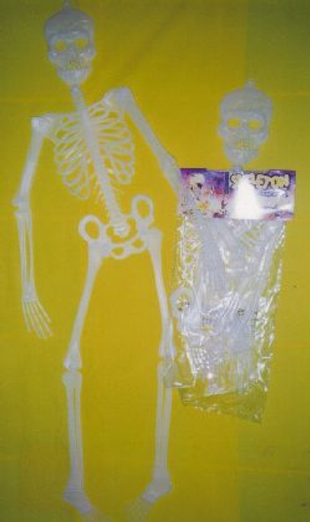 Horror Skeleton 3' Glow in Dark