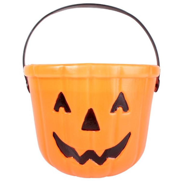 Pumpkin Trick or Treat Bucket 15cm