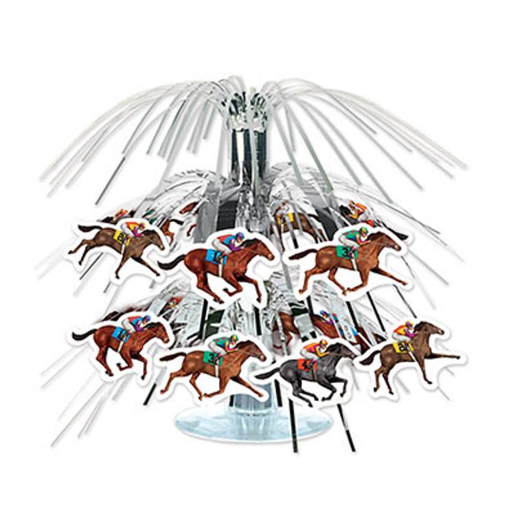 Horse Racing Cascade Centrepiece