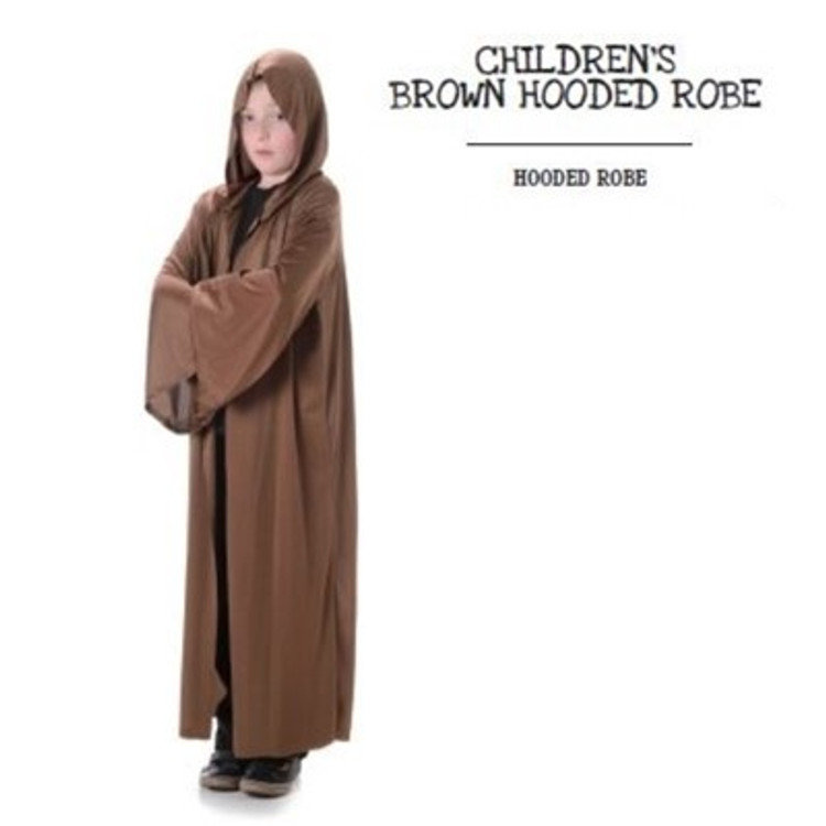 Hooded Robe Kids Costume