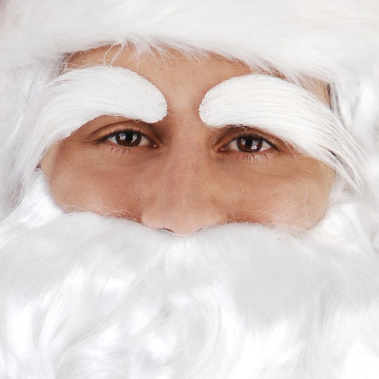 Santa Christmas Eyebrows