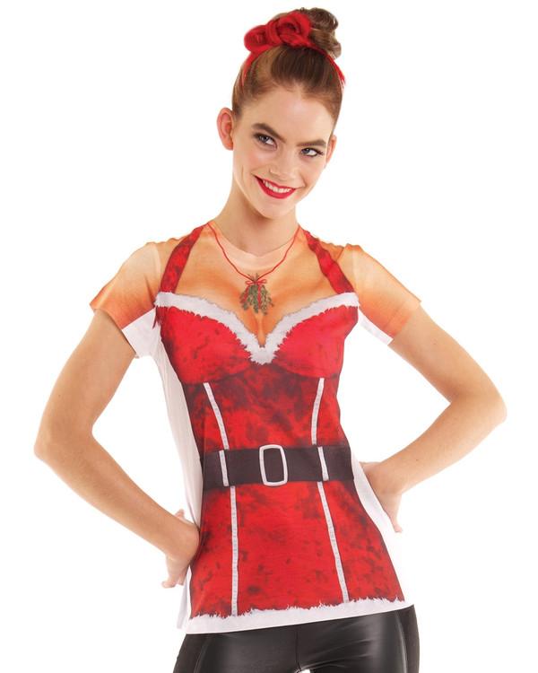 Christmas Mrs Santa T-Shirt