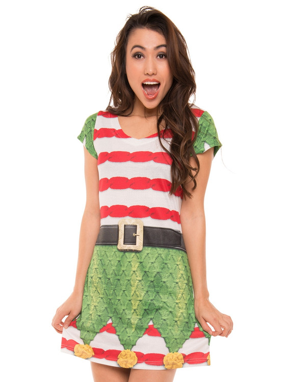 Elf Sweater Dress
