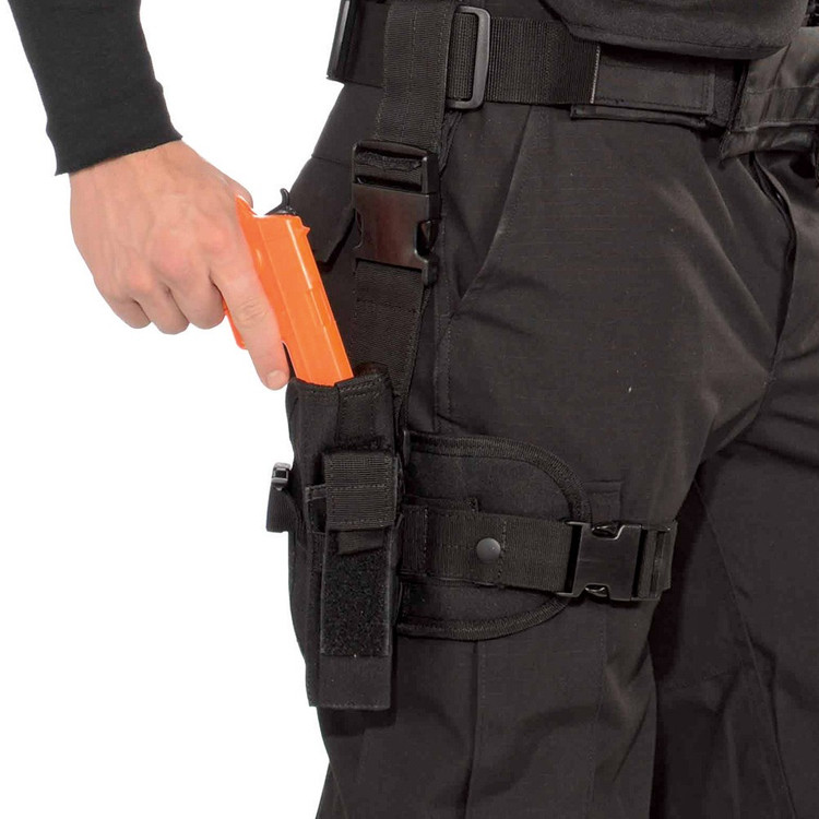 SWAT Handgun and Leg Holster