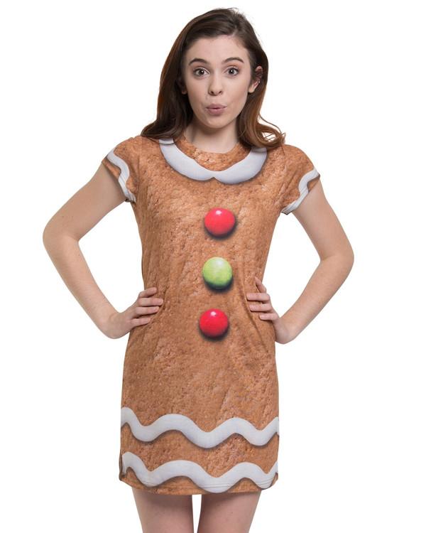 Gingerbread Man Dress