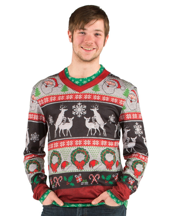 Christmas Ugly Frisky Deer Sweater