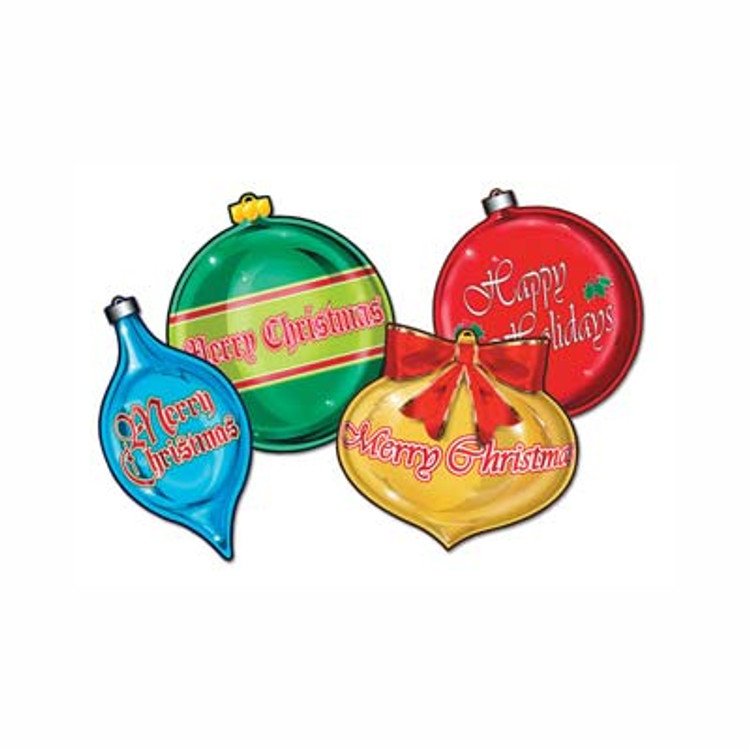 Christmas Ornament Cut Outs